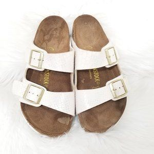 Birkenstock | Arizona Two Strap Sandals White
